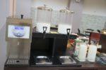 Latte e yogurt buffet sala colazioni